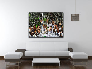 Real Madrid Champions League 2017 Canvas Print & Poster - US Canvas Art Rocks