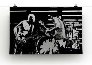 Red Hot Chili Peppers Canvas Print or Poster - Canvas Art Rocks - 2