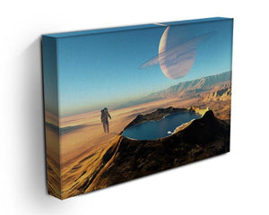 Red Planet Mars Space Walk Canvas Print or Poster - Canvas Art Rocks - 3