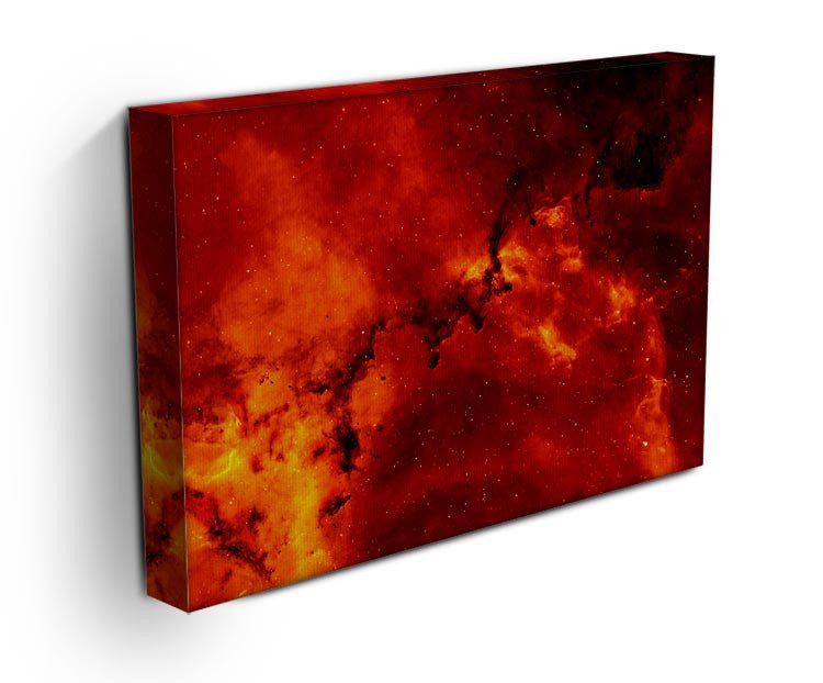 Red Star Print - Canvas Art Rocks - 3