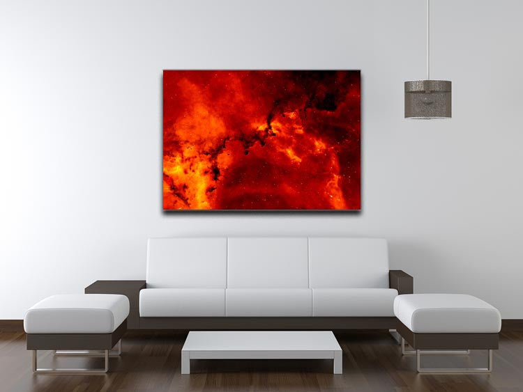 Red Star Print - Canvas Art Rocks - 4