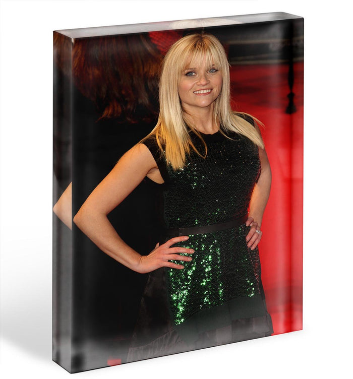 Reese Witherspoon Red Carpet Acrylic Block