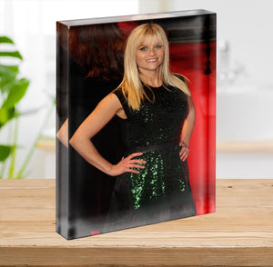 Reese Witherspoon Red Carpet Acrylic Block - Canvas Art Rocks - 2