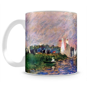 Regatta in Argenteuil by Renoir Mug - Canvas Art Rocks - 2