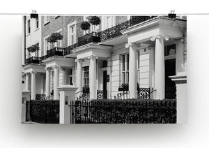 Regency Georgian terraced town house Canvas Print or Poster - Canvas Art Rocks - 2