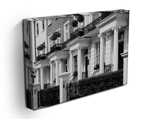 Regency Georgian terraced town house Canvas Print or Poster - Canvas Art Rocks - 3