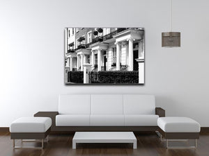 Regency Georgian terraced town house Canvas Print or Poster - Canvas Art Rocks - 4