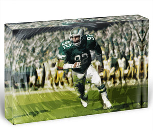 Reggie White Acrylic Block - Canvas Art Rocks - 1