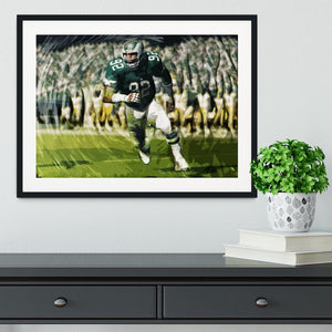 Reggie White Framed Print - Canvas Art Rocks - 1