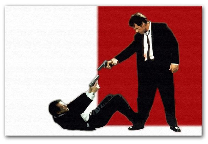 Reservoir Dogs Stand-Off Canvas Print or Poster