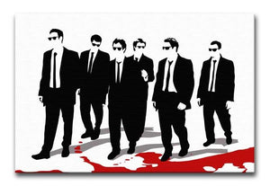 Reservoir Dogs Blood Print - Canvas Art Rocks - 1