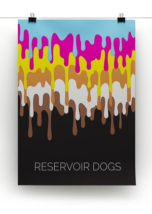 Reservoir Dogs Minimal Movie Canvas Print or Poster - Canvas Art Rocks - 2
