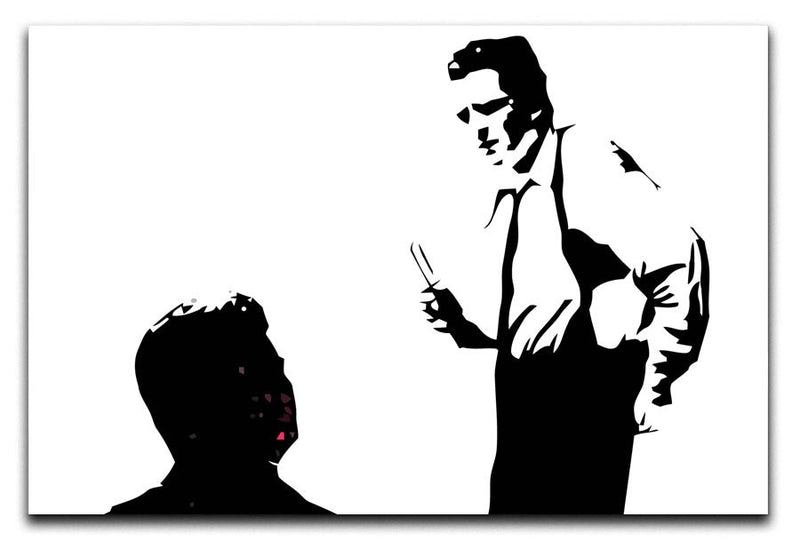 Reservoir Dogs Black and White Print - Canvas Art Rocks - 1