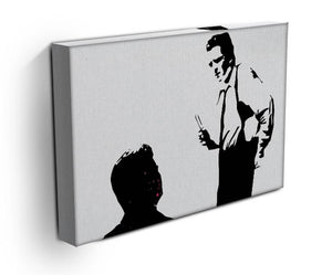 Reservoir Dogs Black and White Print - Canvas Art Rocks - 3