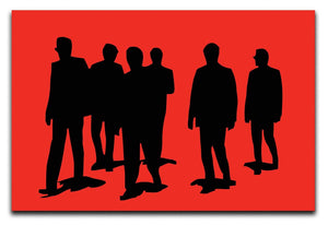 Reservoir Dogs Red Print - Canvas Art Rocks - 1