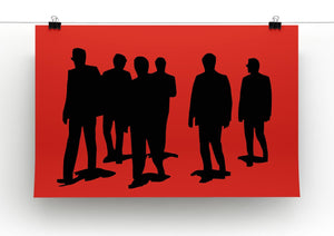 Reservoir Dogs Red Print - Canvas Art Rocks - 2
