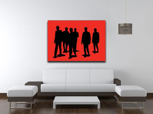 Reservoir Dogs Red Print - Canvas Art Rocks - 4