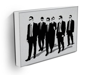 Reservoir Dogs Silhouettes Canvas Print & Poster - US Canvas Art Rocks