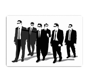 Reservoir Dogs Silhouettes HD Metal Print