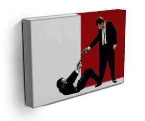 Reservoir Dogs Stand-Off Canvas Print & Poster - Canvas Art Rocks