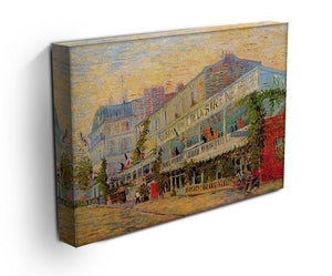 Restaurant de la Sirene at Asnieres by Van Gogh Canvas Print & Poster - Canvas Art Rocks - 3