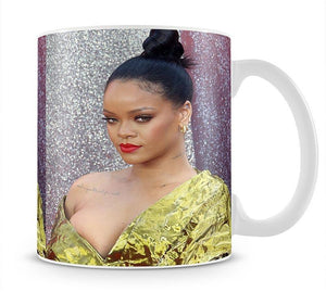 Rihanna goes formal Mug - Canvas Art Rocks - 1