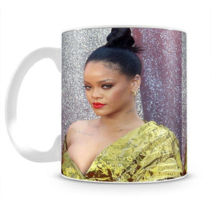 Rihanna goes formal Mug - Canvas Art Rocks - 2