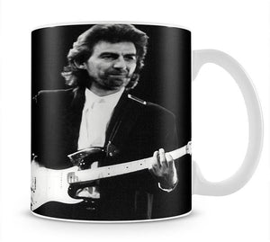 Ringo Starr and George Harrison in 1988 Mug - Canvas Art Rocks - 1