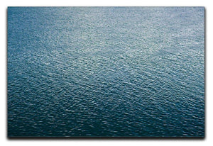 Ripple on blue water Canvas Print or Poster  - Canvas Art Rocks - 1