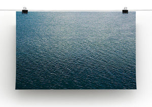 Ripple on blue water Canvas Print or Poster - Canvas Art Rocks - 2