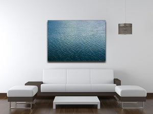Ripple on blue water Canvas Print or Poster - Canvas Art Rocks - 4