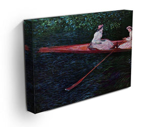 River Epte by Monet Canvas Print & Poster - Canvas Art Rocks - 3