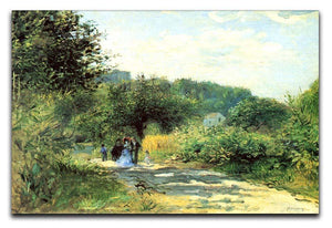 Road to Louveciennes by Renoir Canvas Print or Poster  - Canvas Art Rocks - 1