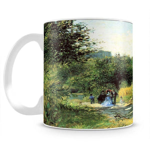 Road to Louveciennes by Renoir Mug - Canvas Art Rocks - 2