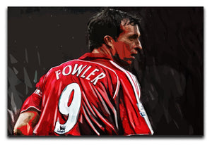 Robbie Fowler Liverpool Canvas Print - Canvas Art Rocks - 1