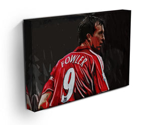 Robbie Fowler Liverpool Canvas Print - Canvas Art Rocks - 3