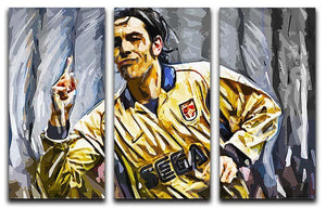 Robert Pires 3 Split Panel Canvas Print - Canvas Art Rocks - 1