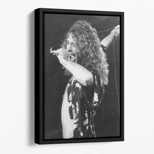 Robert Plant Floating Framed Canvas