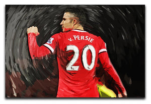 Robin Van Persie Man United Canvas Print - Canvas Art Rocks - 1