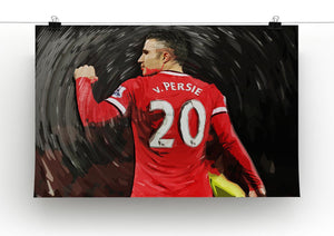 Robin Van Persie Man United Canvas Print - Canvas Art Rocks - 2