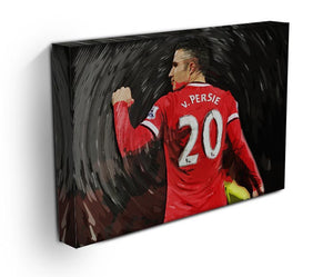 Robin Van Persie Man United Canvas Print - Canvas Art Rocks - 3