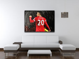 Robin Van Persie Man United Canvas Print - Canvas Art Rocks - 4