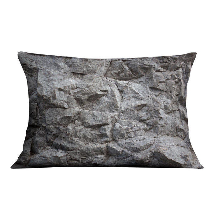 Rock texture background Cushion