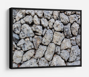 Rock wall texture HD Metal Print - Canvas Art Rocks - 6