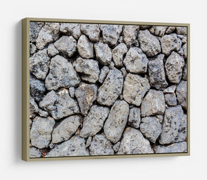 Rock wall texture HD Metal Print - Canvas Art Rocks - 8