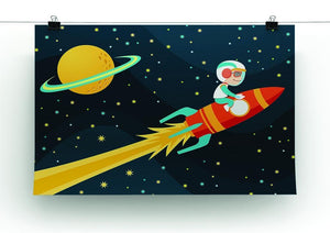Rocket Boy Canvas Print or Poster - Canvas Art Rocks - 2