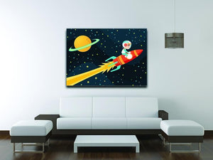 Rocket Boy Canvas Print or Poster - Canvas Art Rocks - 4