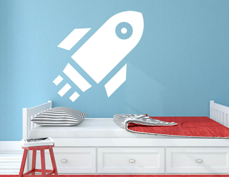 Rocket - Version 3 Wall Decal - US Canvas Art Rocks