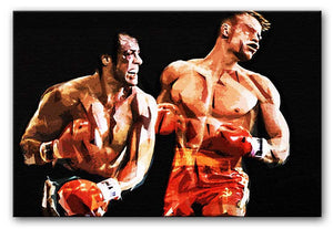 Rocky III Print - Canvas Art Rocks - 1