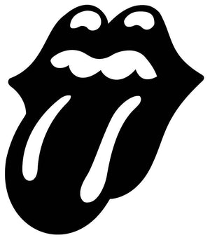 Rolling Stones Kiss Wall Decal - US Canvas Art Rocks